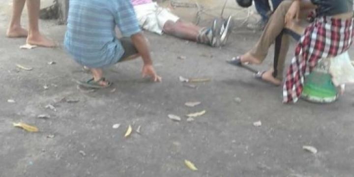 Pai que matou o filho a machadadas é detido e amarrado pela população no assentamento em Castanheira
