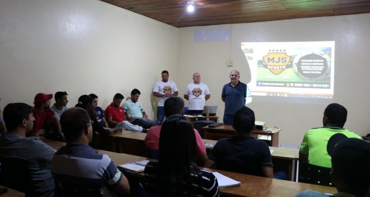 SAEL realiza curso de arbitragem em Aripuanã
