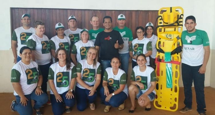 Aripuanã: Moradores da Cidade Morena participam de treinamento sobre primeiros socorros