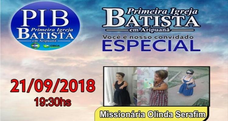 Igreja Batista de Aripuanã promove palestra motivacional