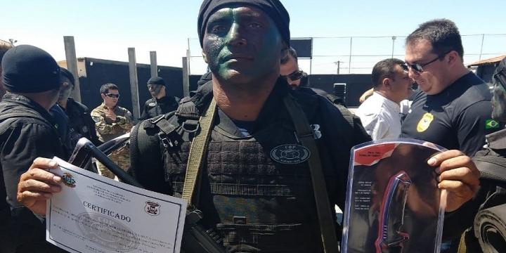 Policial Civil de Juína participa de curso de operações policiais