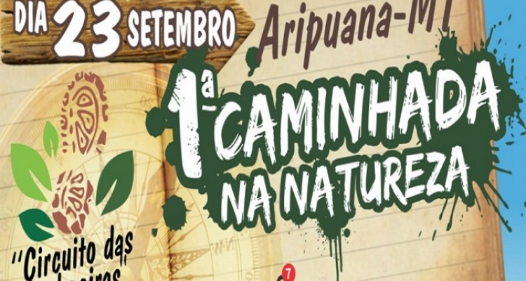 """Caminhada na Natureza """"Circuito das Cachoeiras"""" acontece neste domingo em Aripuanã"""