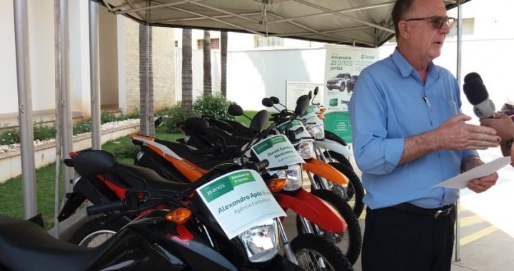 Sicredi Univales MT/RO realiza o sorteio das 5 motos da Campanha 25 anos Juntos