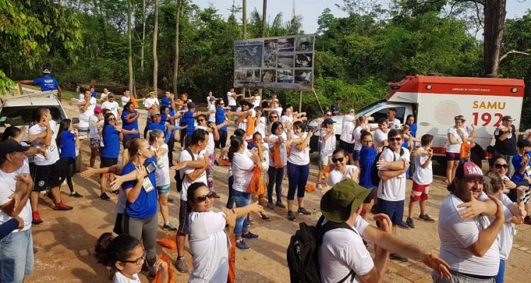 Caminhada na Natureza reúne centenas de participantes em Aripuanã