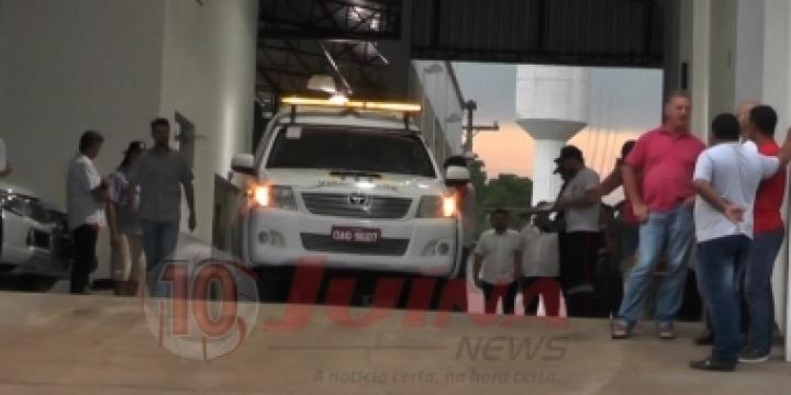 Pecuarista passa mal e morre dentro de empresa em Juína