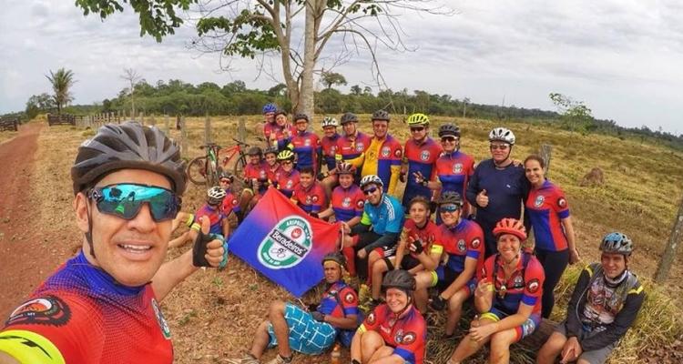 Cerca de 20 ciclistas de Aripuanã participam de prova de Mountain Bike em Juína
