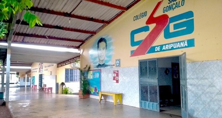 Colégio São Gonçalo de Aripuanã atendendo do maternal de 2 anos até o 1º Ano do Ensino Médio