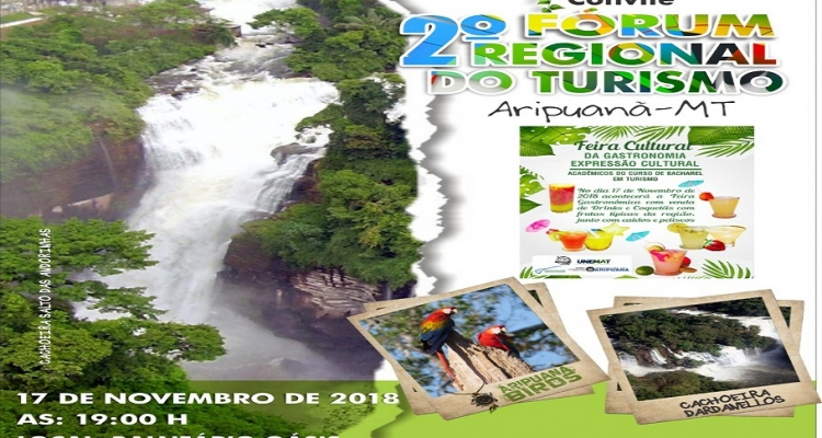 Aripuanã realiza 2ª edição do Fórum Regional de Turismo