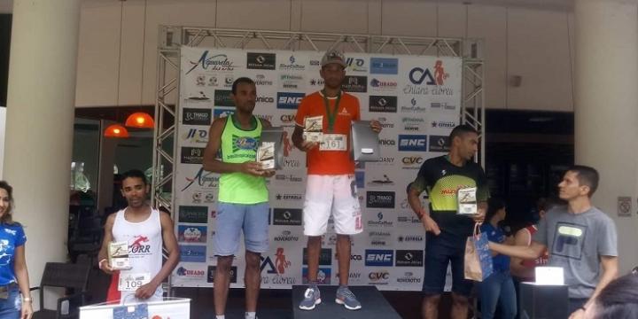 Oseias Rodrigues, atleta de Juara sagrou-se campeão na categoria elite em Sinop