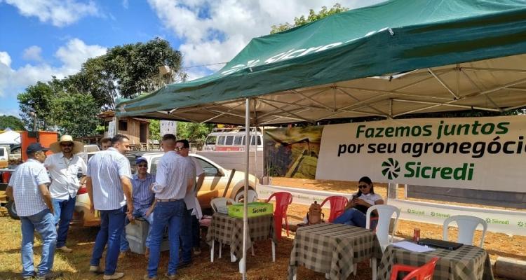 Equipe Sicredi de Aripuanã participa da 2ª Expomor no Distrito Cidade Morena