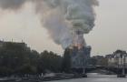 Incêndio atinge a histórica catedral de Notre-Dame em Paris