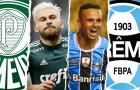 Palmeiras e Grêmio estudam troca envolvendo Lucas Lima e Luan