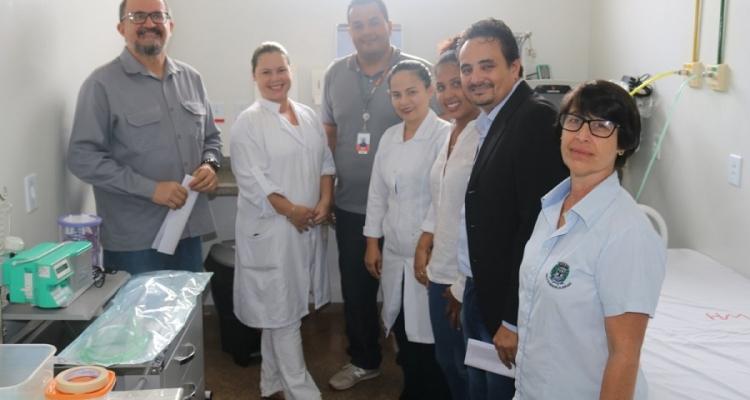 Hospital Municipal de Aripuanã ganha reforma em salas para atendimentos de urgência e emergência