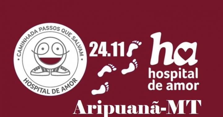 Caminhada 'Passos que Salvam' será realizada pela 2ª vez em Aripuanã