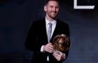 Messi conquista Bola de Ouro pela sexta vez