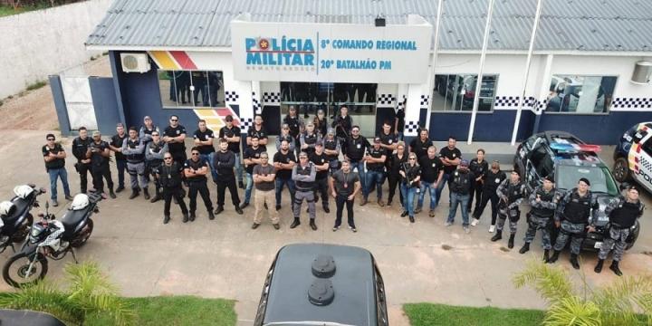Polícia Civil e Polícia Militar de Juína realizam operação 'Morfeu' e cumpre 10 mandados de prisão e 10 de busca e apreensão