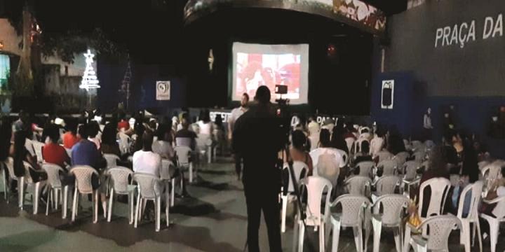 Cine Sicredi chega aos distritos de Nova Londrina e Nova Colina em Ji-Paraná