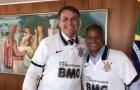 """Marcelinho Carioca exalta Bolsonaro após encontro: """"É um cara maravilhoso"""""""