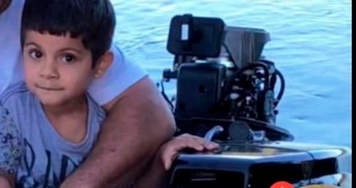 Bombeiros localizam corpo de criança de 03 anos que caiu no Rio Arinos