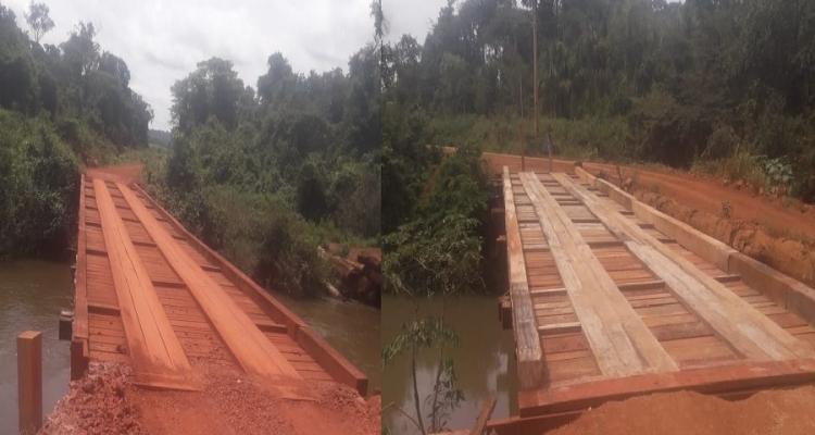 Sindilam é parceira nas construções e reformas de pontes em Aripuanã