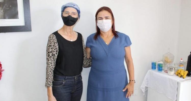 Prefeita de Aripuanã se reúne com Deputada Rosa Neide