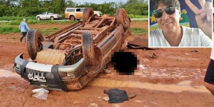 Servidor público morre após ser arremessado de S-10 na BR-364