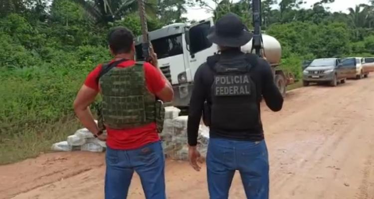Homem é preso em flagrante transportando 250 kg de cocaína em Aripuanã