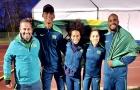 Brasil consegue prata inédita no 4x400m misto, e é eliminado no 4x100m