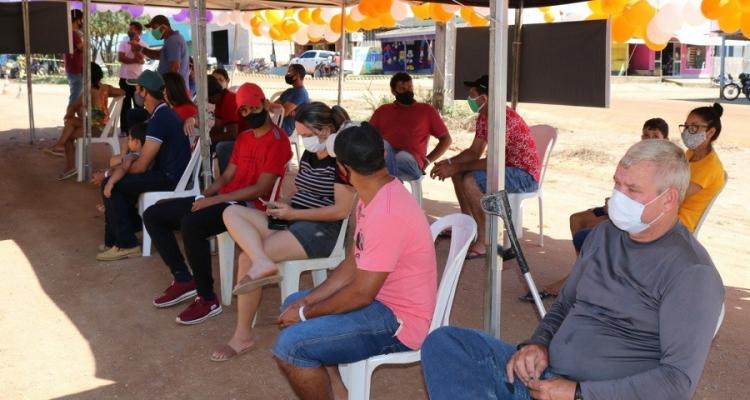 Aripuanã: Ação realiza mais de 250 testes para Covid-19 em Conselvan