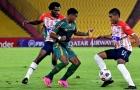 Com pênalti polêmico contra, Fluminense fica no empate com o Junior Barranquilla na Libertadores
