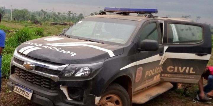 Homem que fugiu de Rondônia com adolescente de 13 anos é preso em flagrante na zona rural de Colniza