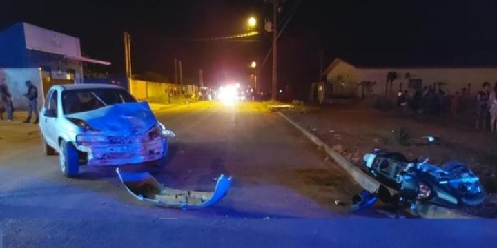 Jovem de 22 anos morre em acidente fatal no bairro módulo 06 em Juína