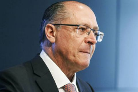 Em Brasília, Alckmin dança antes de ser confirmado candidato do PSDB